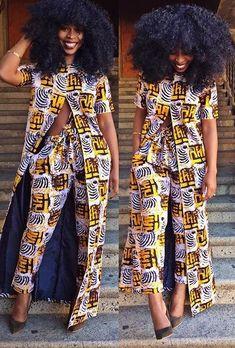 DKK Latest African fashion Ankara kitenge African women dresses African p African Fashion Ankara, African Fashion Designers, African Inspired Fashion, African Print Fashion, Africa Fashion, Ghanaian Fashion, African Print Pants, African Print Dresses, African Dress