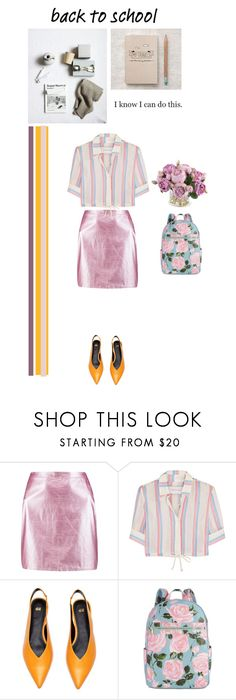 """Pink is the answer"" by olesyabond ❤ liked on Polyvore featuring Boohoo, Solid & Striped, H&M, ban.do and New Growth Designs"
