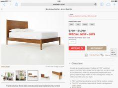 Bigger bed