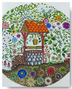 Organic Gardening Supplies Near Me Johanna Basford Books, Johanna Basford Coloring Book, Coloring Books, Coloring Pages, Adult Coloring, Secret Garden Book, Enchanted Forest Coloring Book, Johanna Basford Secret Garden, Secret Garden Coloring Book