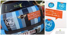 Je hoort HIT FM, maar ziet ze nu ook! De Belgen kunnen dus zelfs op straat niet meer om de radiozender heen. Tof!