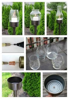 10 Cute Garden Lighting Ideas - Find Fun Art Projects to Do at Home and Arts and Crafts Ideas