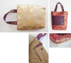 delor purpur ist eine wunderschöne Komposition aus schimmernder Seide und handgegerbtem Leder.