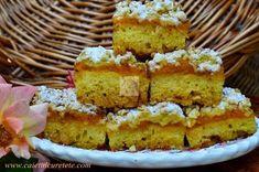 Prajitura cu dovleac si aluat ras - CAIETUL CU RETETE Vanilla Cake, Cooking, Sweet Dreams, Cakes, Kitchen, Cake Makers, Kuchen, Cake, Pastries