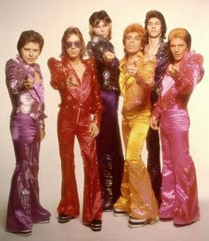 The Glitter Band are a glam rock band from England, who initially worked as Gary Glitter's backing band under that name from 1973, when they then began releasing records of their own. They were unofficially known as the Glittermen on the first four hit singles by Gary Glitter from 1972 to 1973. The Glitter Band had seven UK Top 20 hit singles in the mid-1970s, and three hit albums. Pete Phipps & John Springate are still currently touring with The Glitter Band.