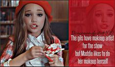 24 Hours With Maddie Ziegler - Melodika Facts About Dance, Dance Moms Facts, Dance Moms Dancers, Dance Mums, Dance Moms Chloe, Dance Moms Girls, Dance Moms Quotes, Dance Moms Funny, Dance Moms Comics