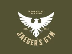 Jaeger's Gym designed by Hipnos. Connect with them on Dribbble; Gym Design, Badge Design, Identity Design, Logo Design, Graphic Design, Automotive Logo, Art Logo, Personal Branding, Logo Inspiration