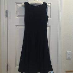 Saks 5th Ave dress fitted top and swing skirt