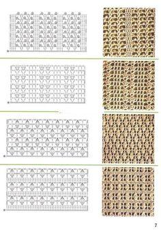 Gallery.ru / Фото #55 - образцы вязания - angebaltik