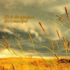 He is...