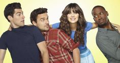 New Girl.  This show makes me laugh.  Zoey Deschanel is so quirky and adorable and Schmidt is hilarious!