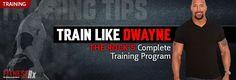 Dwayne Johnson's Complete Training Program