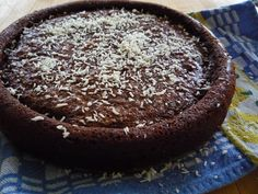 Gluten-Free Vegan Chocolate Coconut Cake