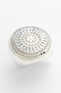 Anna Beck 'Leaf' Round Cocktail Ring (Nordstrom Exclusive) | Nordstrom - size 5 or 6 - me