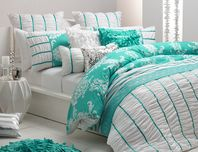 tiffany+blue+comforter+sets   THE WHITE COMFORTER WITH BLUE RIBBON on The Hunt