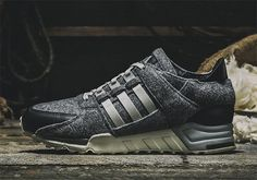 A Woolen Adaptation Of The adidas EQT Support '93 Is Releasing Soon - SneakerNews.com
