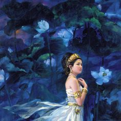 Lotus Bodhisattva by jialu