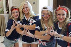Kappa Delta at University of Tennessee #KappaDelta #KD #BidDay #America #sorority #Tennessee