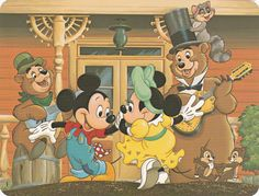 "Postcard c. 1982 ""Swing Your Partner"""