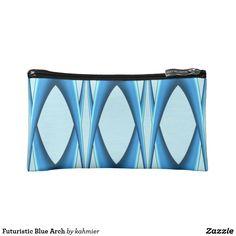 Futuristic Blue Arch