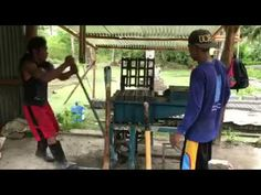 Making our own hollow blocks for our house in the Philippines Construction Business, Philippines, Outdoor Decor, Youtube, How To Make, House, Home, Youtubers, Homes
