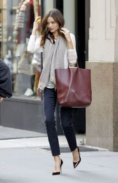 Miranda Kerr with a Celine bag