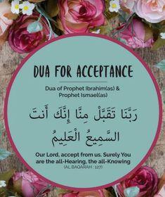dua for acceptance. May Allah accept our fast & prayers & make this Ramadan turning point in our lives Ameen! Hadith Islam, Duaa Islam, Allah Islam, Islam Quran, Islam Muslim, Alhamdulillah, Islamic Phrases, Islamic Messages, Islamic Posters