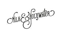 Hand Drawn Typography by Matthew Jensen, via Behance