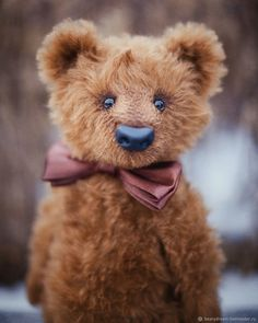 Artist Teddy Bear from mohair (OOAK). Mr. Edward – shop online on Livemaster with shipping