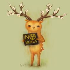 NO NUKES ! by furryfurry