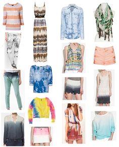 shopping tie dye