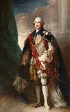Hugh Percy (1712–1786), 1st Duke of Northumberland - Thomas Gainsborough - (British : 1727 - 1788)