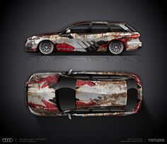 DESIGN CONCEPT #15 FOR AUDI RS6 AVANT | DESIGN ATELIER TTSTUDIO