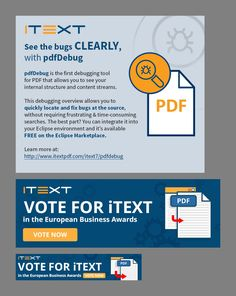 Quick Email Banner Ad for iText Online Marketing, Banner, Ads, Banner Stands, Banners