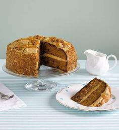 Triple-Layer Toffee Cake from Marks and Spencer
