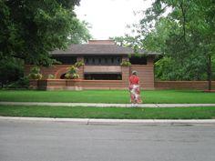 Oak Park, IL. On Frank Lloyd Wright tour. Summer, 2012.