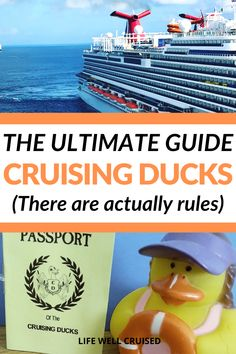 If you're planning a cruise in 2021 and want to get involved in the fun trend, cruise ducks, you'll love all the information in this article. From the history of cruising ducks, to the rules of how to play and beyond, this is the ultimate guide! #cruisingducks #cruise #cruisevacation #cruises #cruisetips Cruise Packing Tips, Cruise Travel, Cruise Vacation, Cruise Ship Reviews, Best Cruise Ships, Caribbean Cruise, Royal Caribbean, Carnival Cruise Ships, Kindness Projects