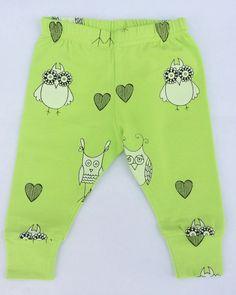 Odd owls organic cotton leggings - Fancy Frogz