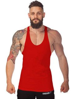 Muscle4Muscle Big, Bold. & Solid Bodybuilding Tank Top