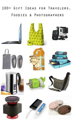 100+ Gift Ideas for Travelers, Foodies & Photographers