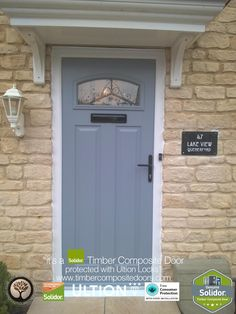 French Grey Solidor Timber Composite Doors 12 Months Interest Free ...