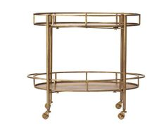 Copy Cat Chic: Pure Home Gold Normandy Bar Cart