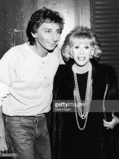 Barry Manilow and Joan Rivers.
