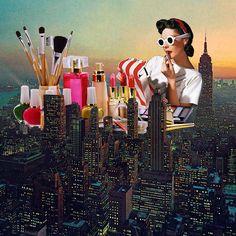 Les collages vintage pop de Eugenia Loli 2Tout2Rien