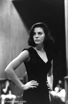 Natalie Wood -  Photographed by Ernst Haas in 1961.