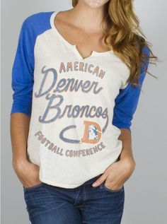 Womens Denver Bronco apparel | Denver Broncos Women's Apparel
