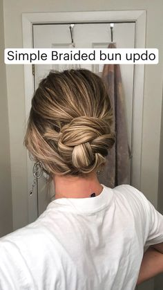 Bun Hairstyles For Long Hair, Work Hairstyles, Braids For Short Hair, Protective Hairstyles, Braided Hairstyles For Black Women, Black Girl Braids, Braided Hairstyles Tutorials, Girls Braids, Simple Hairstyles For Long Hair