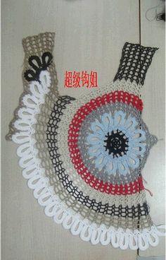 ¡Crochet Top! ¡La inspiración con unos cuadros para mostrar cómo es hecho!