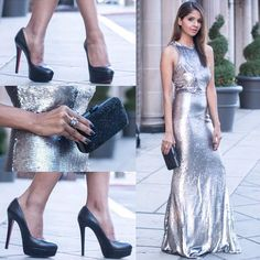 Heels  by Christian Louboutin and clutch by Nordstrom! :-) #losangeles #heels #shoes #christianlouboutin