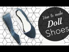 The quintessential run-around shoes. What is your favourite flat shoes that you are wearing? Here I have shared a video of doll shoes crafting, hope you enjo. Sewing Barbie Clothes, Barbie Shoes, Barbie Clothes Patterns, Doll Shoes, Barbie Stuff, Doll Clothes, Doll Crafts, Diy Doll, Paper Crafts